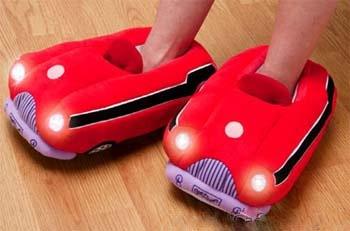 Автомобильные шлепанцы с подсветкой