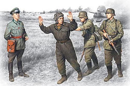Рисунок с немецкого агитационного листка. 1941 год.