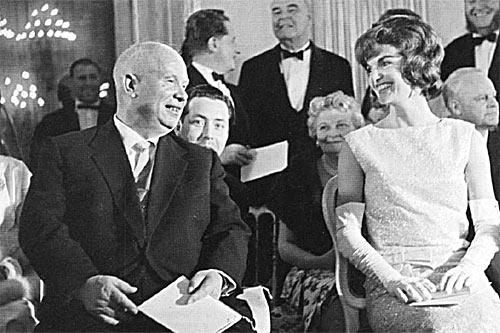 Никита Хрущев и Жаклин Кеннеди в Вене