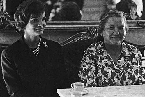 Нина Хрущева и Жаклин Кеннеди