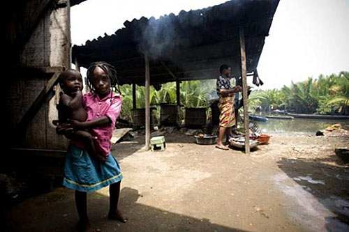 Нигерийская деревня