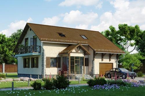 Коттеджный поселок Вестфалия - серия домов Майнц