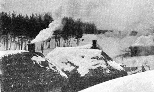 Избы затопили. Сергей Красинский. 1926 год