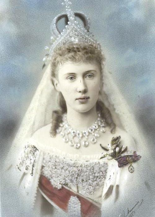 Русская дворянка второй половины XIX века