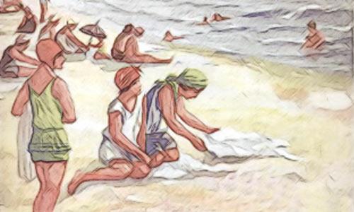 Из журнальной рекламы Черноморских курортов. 1924 год