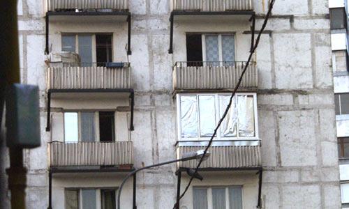 Типа балконы укрепляют