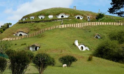Хобитон на овечьей ферме