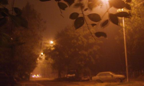 Дымная ночь в Москве