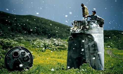 Упавшие с неба части спутников в Алтайском крае
