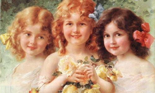 Эмиль Вернон - Три сестры