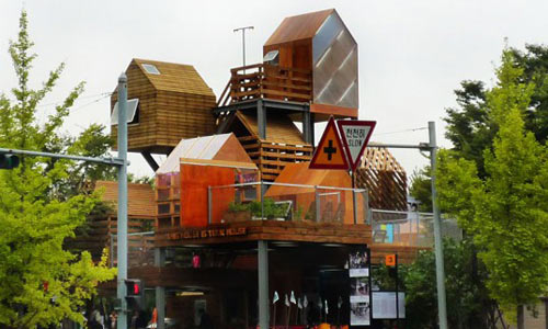 Многоэтажная деревня