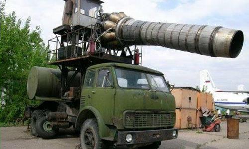 Супер оружие на базе грузовика МАЗ