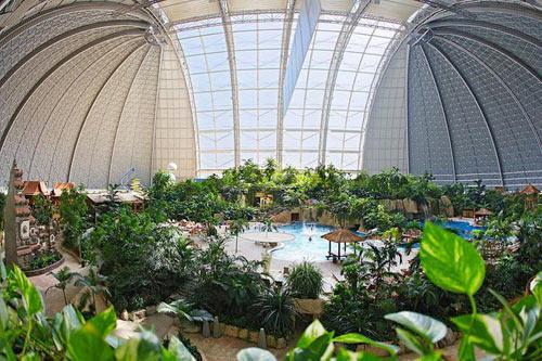 Тропический курорт в Германии