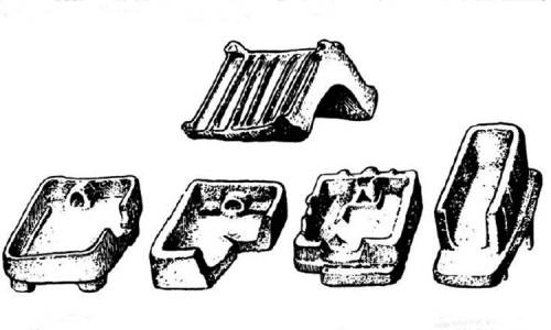 Модели жилищ жителей эпохи неолита.