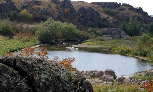 Останки деревни жителей эпохи неолита на территории современной Украины.