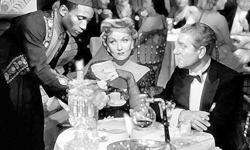 """Экранизация романа """"Martin Roumagnac"""". Марлен Дитрих и Жан Габен. 1946 год."""