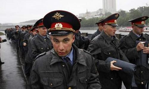 Российская полиция.