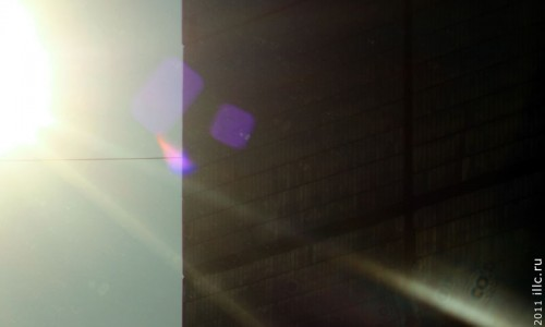 Последнее солнечное затмение 2011 года.
