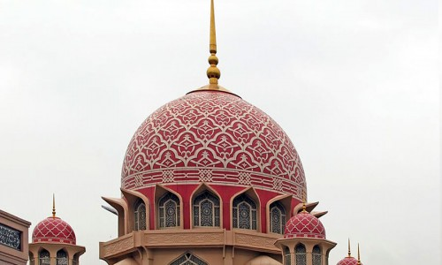 Putrajaya Mosque, Malaysia, Federal Territory of Putrajaya, Putrajayaa. Автор Nakhon224 (Panoramio).