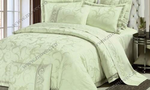 Жаккардовое постельное белье Asabella 614.